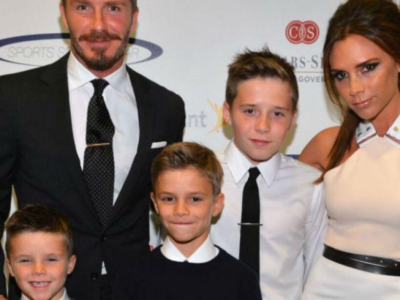 9. Victoria: La ex Spice Girl es mamá de Romeo, Harper, Brooklyn y Cruz, los retoños del futbolista David Beckham.