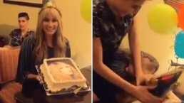 Ashley de Ha*Ash le dio tremendo pastelazo a Hanna en su cumpleaños