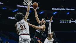 Cavaliers sorprende a 76ers sobre el final