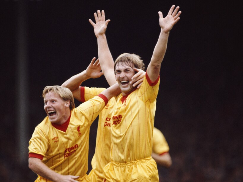 Kenny Dalglish Arsenal v Liverpool 1983