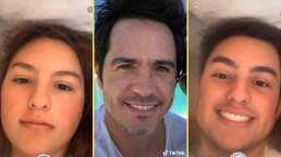 Lorenza, hija de Mauricio Ochmann, asegura que cada primogénita se parece a la versión femenina de su padre