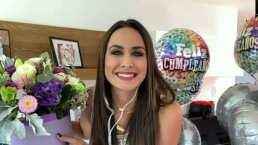 Odalys Ramírez da emotivas palabras en su cumpleaños y asegura que su cambio de look no se debe a la 'crisis de los 33'