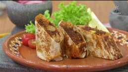 RECETA: Burrito de chilorio