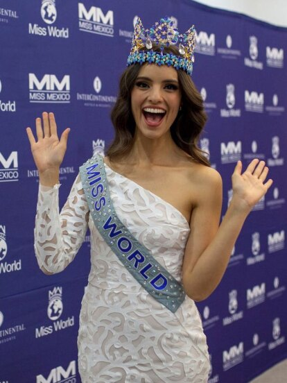 Vanessa Ponce está orgullosa de ser la primera mexicana en ganar este certamen.