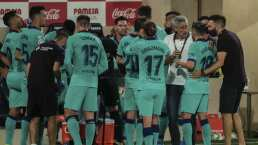 Setién resalta que con Griezmann sorprendieron a Villarreal