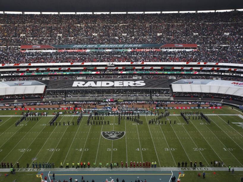 Mexico Patriots Raiders Football
