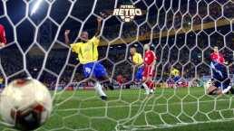 'Fenomenal' punterazo de Ronaldo que llevó a Brasil a la Final 2002