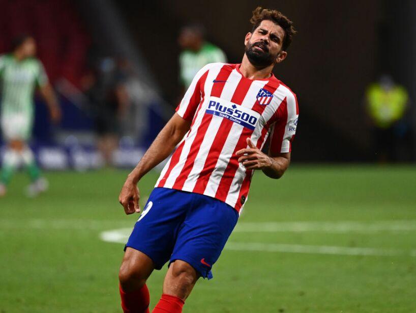 Diego Costa lamenta Atlético juego