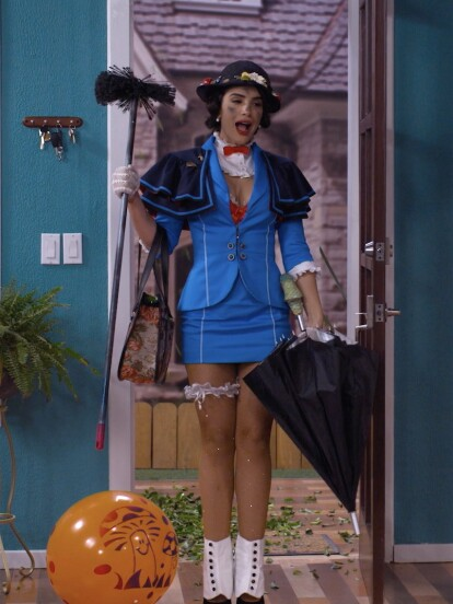 Vimos a Ifigania de Mary Poppins en esta segunda temporada.