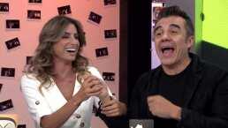 Dgeneraciones: Adrián Uribe le roba un beso a Estefanía Ahumada