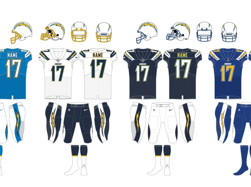 Uniforme Chargers 2019.png