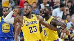 Los Angeles Lakers están separados, pero más cercanos virtualmente