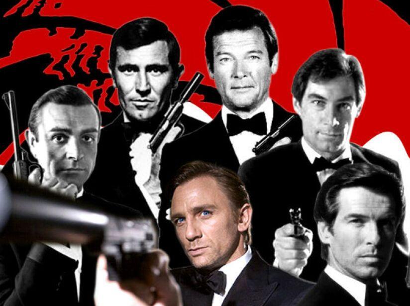 ¿Cuál es tu favorito o con qué actor te quedabas como James Bondo?