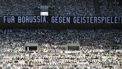 El Borussia Park lució un 'lleno' tremendo en la victoria del Gladbach sobre el Union Berlin. Y es que miles de aficionados tuvieron su fotografía en el estadio.