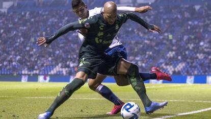 Con gol del Polaco Menendez al minuto 90+5, Puebla empata y rescata un punto en casa.