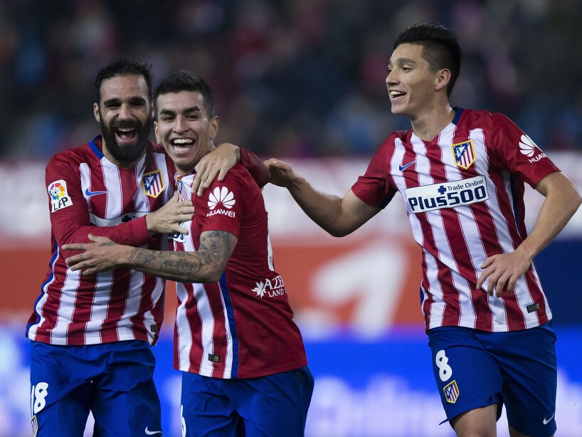 Club Atletico de Madrid v Rayo Vallecano de Madrid - Copa del Rey Round of 16