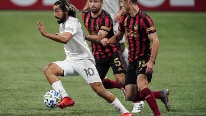 Los comandados por Rodolfo Pizarro no consiguen sumar los tres puntos en su visita a Atlanta y se conforman con una unidad.