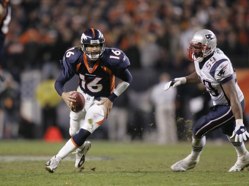 2005 AFC Divisional Playoff Game - New England Patriots vs Denver Broncos - January 14, 2006