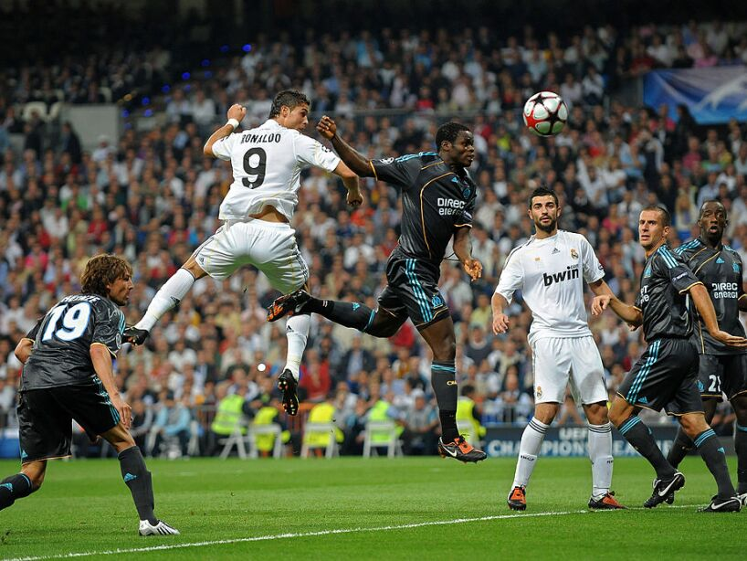 Real Madrid v Marseille - UEFA Champions League