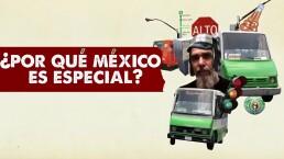 La fuerza de México cautivó a Dr. Alderete