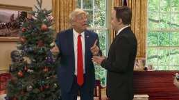 SKETCH: Navidad con Trump
