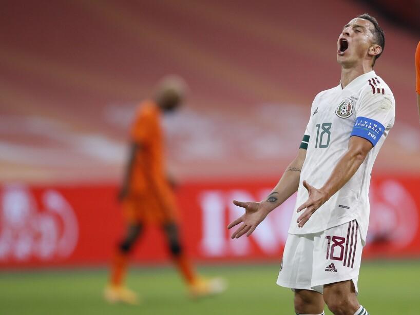 Andrés Guardado lamento uniforme blanco selección mexicana ante Holanda gafete capitán