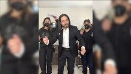 Omar Chaparro se disfraza de Marco Antonio Solís