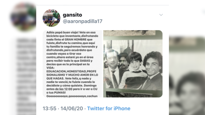 Así se despidieron de Aarón Padilla su hijo, excompañeros y los clubes de un referente en el futbol mexicano. Que en paz descanse.