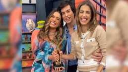 """Galilea Montijo le dedica su premio TVyNovelas 2020 a Magda Rodríguez: """"Estaba muy emocionada por mí"""""""