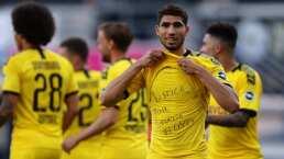 Sin sanción protestas contra racismo en la Bundesliga