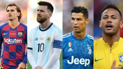 Messi se coloca como el mejor jugador del FIFA 20, Cristiano Ronaldo está a penas un punto abajo de él. Neymar ocupa la tercera posición.