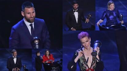 Estos son los ganadores al premio The Best otorgado por la FIFA.