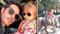 Kailani monta a caballo como toda una profesional y enternece en redes sociales