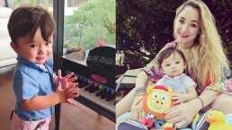 Sherlyn y su hijo llenan de ternura las redes al tocar el piano juntos