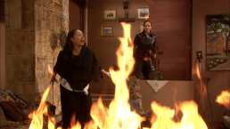 C139: Gabriela intenta quemar viva a Soledad