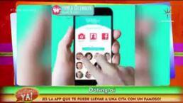 ¿Quieres salir con un famoso? ¡Conoce esta nueva App!
