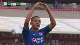 Roberto Alvarado no perdona ante Lajud y llega el 3-1 de Cruz Azul