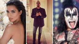 'Ellos son los más ricos de la colonia': Pepe Aguilar confiesa ser vecino de KISS y Kim Kardashian