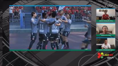 Las escuadras dirigidas por Diego Rosales (Toluca) y Jairo González (Necaxa), terminaron un emocionante partido en empate. Toluca iba arriba en la primera mitad, pero un error le costó caro y al final terminó el partido 3-3.