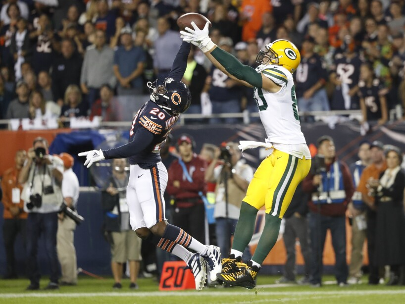 APTOPIX Packers Bears Football