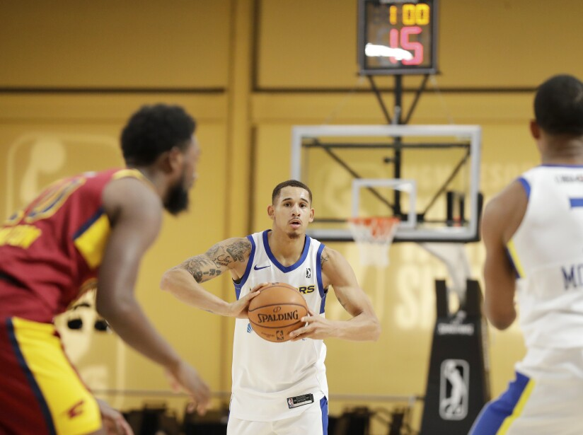 2018 MGM Resorts NBA G League Winter Showcase Day 4 ; Santa Cruz Warriors v. Canton Charge