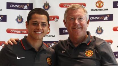 """Chicharito: """"Me mataré por sir Alex Ferguson en la cancha"""" comentó Javier Hernández en un podcast para el Manchester United."""
