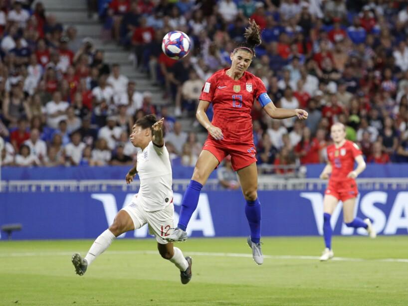 APTOPIX France England US WWCup Soccer
