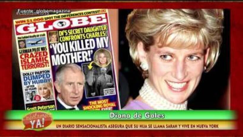 VIDEO: ¿La Princesa Diana tuvo una hija secreta?