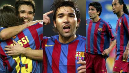 Anderson Luis de Souza, mejor conocido como Deco, celebra su cumpleaños 42 y recordamos su importancia en la historia reciente del FC Barcelona.