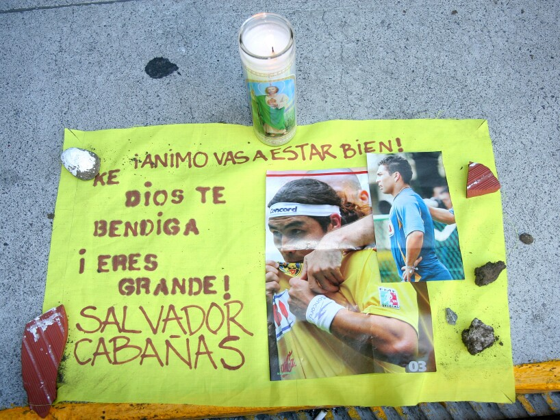 Salvador Cabanas Shot In Bar Attack