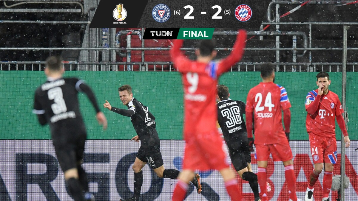 Holstein Kiel 2-2 Bayern München: Goles, resultado y ...