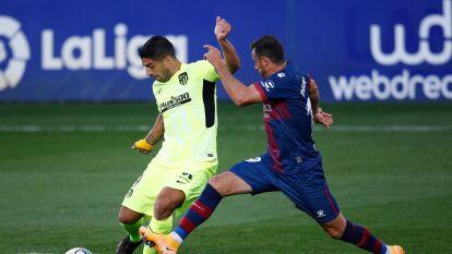 Huesca y Atlético de Madrid empatan en La Liga | Tras igualar sin goles, reparten puntos en El Alcoraz; Herrera no tuvo minutos de juego y Suárez salió al 62'.