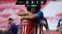 Chivas 3-1 Mazatlán FC   El Rebaño se apunta a semis de la Copa GNP