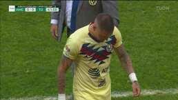 ¡Alerta! Nico Castillo sale lesionado